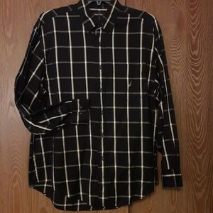 Nautica Men's 100% Cotton Shirt Button down Sz L